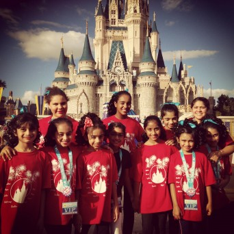 Our Stars In Disney World!