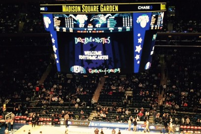 Rhythmic Arts Students Light Up MADISON SQUARE GARDEN, Prudential Center & Wells Fargo Center!